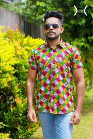 Fulfil with Colours Designer Shirt